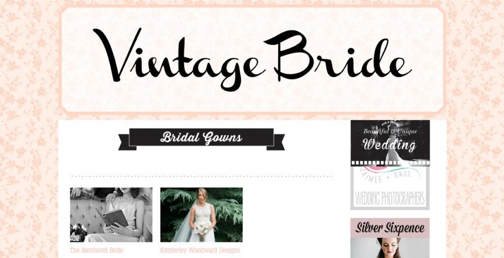 POSTED - Vintage Bride Magazine Collage 1