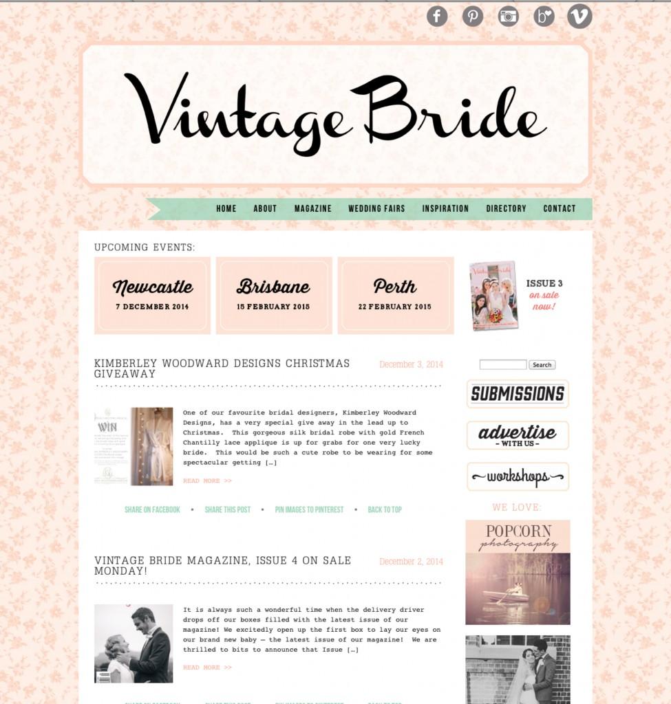 Vintage Bride Collage