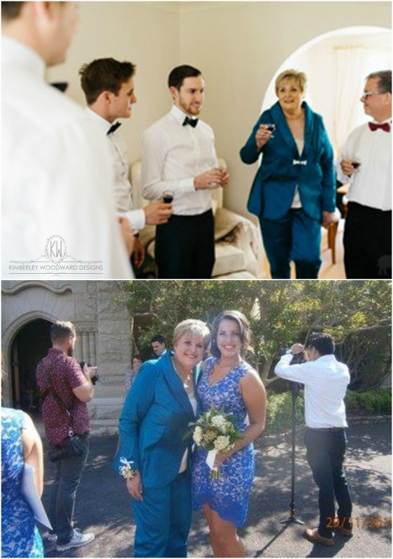 Congratulations on your son's wedding, Lynne! You looked absolutely stunning.