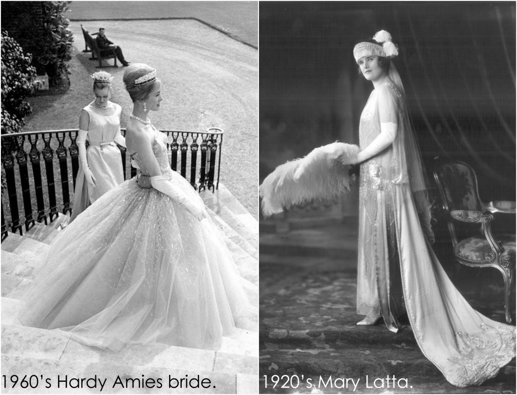 Vintage Gowns Collage