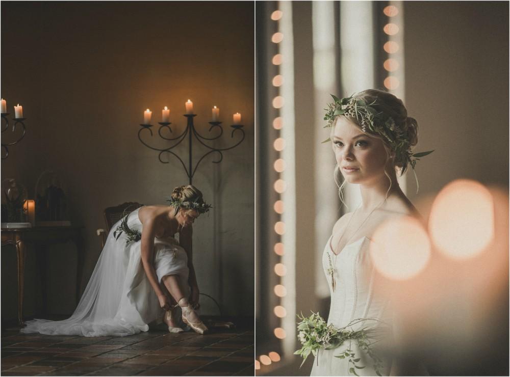Polyester and Silk Wedding Dress - KIMBERLEY WOODWARD DESIGNS