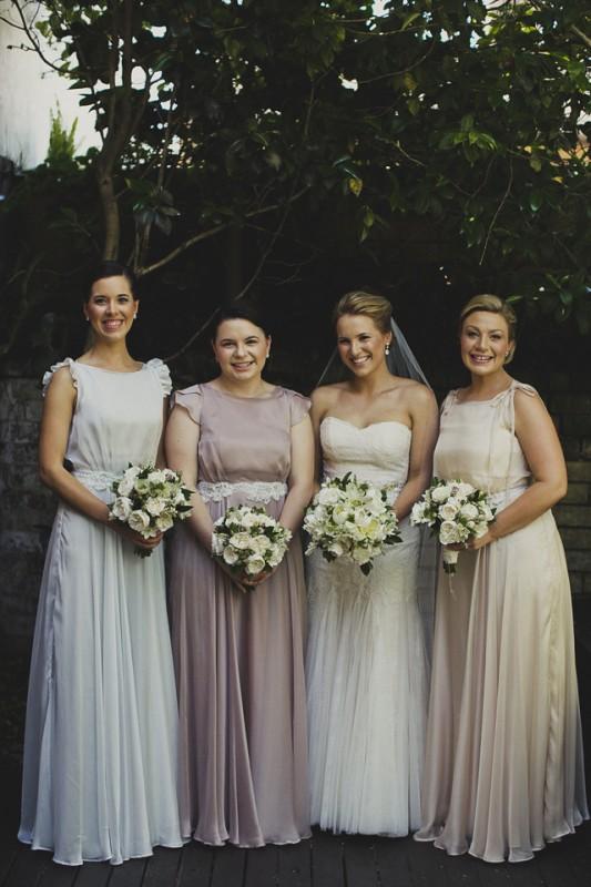 Silk Bridesmaid Dresses - KIMBERLEY WOODWARD DESIGNS